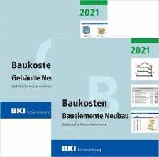 BKI Baukosten Neubau 2021. 2 Bände.