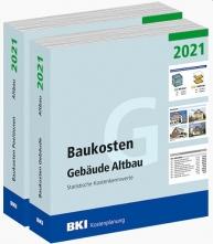 BKI Baukosten Altbau 2021 - Kombi Gebäude + Positionen. Mit ABO-Service!
