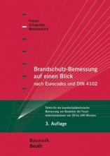 Brandschutz-Bemessung auf einen Blick nach Eurocodes und DIN 4102.