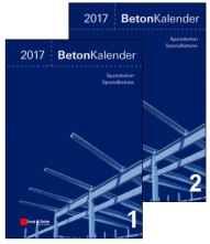 Beton-Kalender 2017. 2 Bände