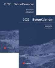 Beton-Kalender 2022. 2 Bände